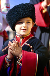 Russia - Krasnodar kray: young cossack (photo by Vladimir Sidoropolev)