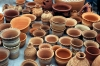 Russia - Krasnodar: pottery - red clay vases (photo by Vladimir Sidoropolev)
