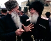 Russia - Kuban - Krasnodar kray: cossack and Chechen - epauletes (photo by Vladimir Sidoropolev)
