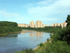 Russia - Udmurtia - Izhevsk: the Izh river (photo by Paul Artus)