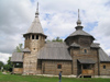 Russia - Suzdal - Vladimir oblast: wooden church - Museum of wooden architecture & peasant life - photo by J.Kaman