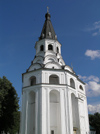 Russia - Alexandrov - Vladimir oblast: convent bell tower - photo by J.Kaman