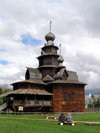 Russia - Suzdal - Vladimir oblast: stave church - Museum of wooden architecture & peasant life - photo by J.Kaman