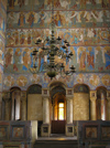 Russia - Rostov: Kremlin - Assumption cathedral - iconostasis - photo by J.Kaman