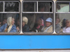 Russia - Vologda: Bus ride  - pensioners - photo by J.Kaman
