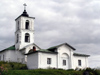 Russia - Goritsy - Valogda oblast: white church - photo by J.Kaman