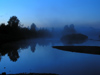 Russia - Marino - Valogda oblast: Midnight fog - photo by J.Kaman