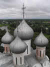 Russia - Vologda: onion domes in the Kremlin - photo by J.Kaman