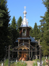 Russia - Marino - Valogda oblast: cemetery church - photo by J.Kaman