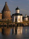 Russia - Monastery tower and chappels (Solovetsky islands, RUSSIA) - photo by J.Kaman