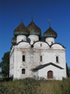 Russia -  Kargopol -  Arkhangelsk Oblast: Church of the Ascension - 17th century - photo by J.Kaman