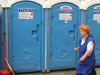 Russia - Moscow: Toilet booths - Russian WCs - photo by J.Kaman