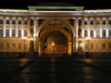 Russia - St Petersburg: General Staff Building - nocturnal - photo by J.Kaman