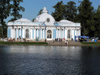 Russia - Pushkin Village / Tsarskoe Selo: pavillion and pond - photo by J.Kaman