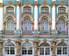 Russia - Pushkin Village / Tsarskoe Selo: blue and gold - photo by J.Kaman