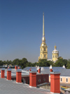 Russia - St Petersburg: Peter & Paul Fortress - needle - photo by J.Kaman