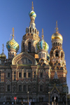 Russia - St Petersburg: Church of the Saviour of Spilled Blood - onion domes - photo by J.Kaman
