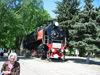 Russia - Krasnodar krai - Tikhoretsk: train - WWII locomotive (photo by Dalkhat M. Ediev)