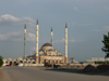 Chechnya, Russia - Grozny - Grozny central mosque on Putin Prospekt - Chechen mosque - Hajji Akhmad Kadyrov's Resting Place - photo by A.Bley