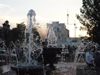 Chechnya, Russia - Grozny - water fountain - photo by A.Bley