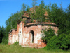 Russia - Meshera Forest  - Moscow oblast: forgoten church (photo by Dalkhat M. Ediev)