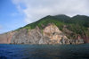 Saba: the island seen from the sea - photo by M.Torres