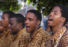 South Africa - Street singers, Cape Town  (photo by B.Cain)