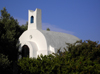 Onrus, Overberg District, Western Cape, South Africa: whitewashed chapel - Garden Route - photo by D.Steppuhn