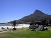 Cape Town, Western Cape, South Africa: Lion's Head mountain and Clifton beach - photo by D.Steppuhn