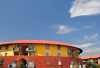 Johannesburg, Gauteng, South Africa: colourful housing - Carr St. - Gerard Sekoto St  - Newtown - photo by M.Torres