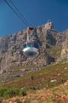 South Africa - Cape Town: the Cable car takes visitors to the summit of Table mountain - photo by R.Eime
