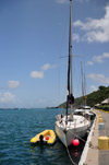 Gustavia, St. Barts / Saint-Barth�lemy: yacht Johnny J - Beneteau Oceanis 321 - Gustavia harbour - photo by M.Torres