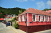 Gustavia, St. Barts / Saint-Barth�lemy: Creole cottage - pink house on Rue Bord de Mer, Place d'Armes - photo by M.Torres