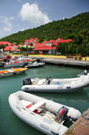 Gustavia, St. Barts / Saint-Barth�lemy: Caribe inflatable boats - photo by M.Torres