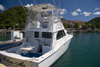 Saint Martin - Marigot: boat for Big-game fishing - sports fishing - Follow Me - photo by D.Smith