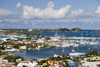 Sint-Maarten / St Martin - Simpson bay: from the hills - photo by D.Smith