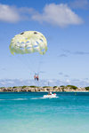 St. Martin - Orient Beach: tandem para-gliding - photo by D.Smith