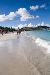 St. Martin - Orient Beach: Caribbean water - photo by D.Smith