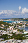Sint-Maarten - Simpson bay: the isthmus - photo by D.Smith