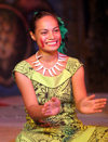 Samoa - Upolo - Apia: Fia-fia performer - traditional dancing - photo by R.Eime