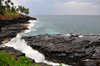 Boca do Inferno, Cantagalo district, S�o Tom� and Pr�cipe / STP: Hell's Mouth blowhole / furna de sopro - photo by M.Torres