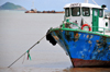S�o Tom�, S�o Tom� and Pr�ncipe / STP: fishing boat Andrea / traineira Andrea - photo by M.Torres