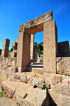 Sant'Angelo, Fluminimaggiore, Sardinia / Sardegna / Sardigna: Punic-Roman temple of Antas - Carthaginian gate - photo by M.Torres