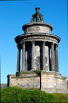 Scotland - Edinburgh: The Burns Monument is situated on Regent Road, beneath Calton Hill - photo by C.McEachern