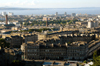 Scotland - Edinburgh: view north from Calton Hill over New Town and Leith to the Firth of Forth - photo by C.McEachern