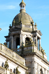 Scotland - Glasgow - Secondary or sidedome of the City Chambers on George Square - photo by C.McEachern