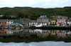 Scotland - Tarbert: fishing village on Loch Fyne on the Kintyre Peninsula. The shops, pubs, hotels and houses settled snuggly around the welcoming natural harbour, one of the very few in Scotland - photo by C. McEachern