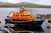 Scotland - Islay Island - Port Askaig: Severn class lifeboat - these boats belong to the Royal National Lifeboat Institution, have a crew of 6, are powered by twin 1,200 HP Catepillar engines and cruise at 25 knots with a rangeof 250 nautical miles - photo by C.McEachern