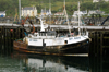 Scotland - Mallaig: Sound of Sleat - one of the fishing boats in the harbour - Mallaig is the gateway to the Isles of Skye, Rhum, and South Uist, by ferry - Highlands - photo by C.McEachern