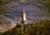 Scotland - Stirling: Braveheart memories - National Wallace Monument - summit of Abbey Craig - architect John Thomas Rochead - photo by F.Rigaud
